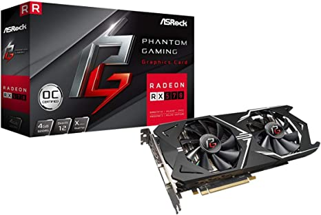 Amazon.com: ASRock Phantom Gaming X Radeon RX 570 DirectX 12 ...