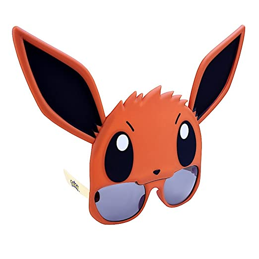 0606d40139ea Amazon.com  Costume Sunglasses Pokemon Eevee Sun-Staches Party ...