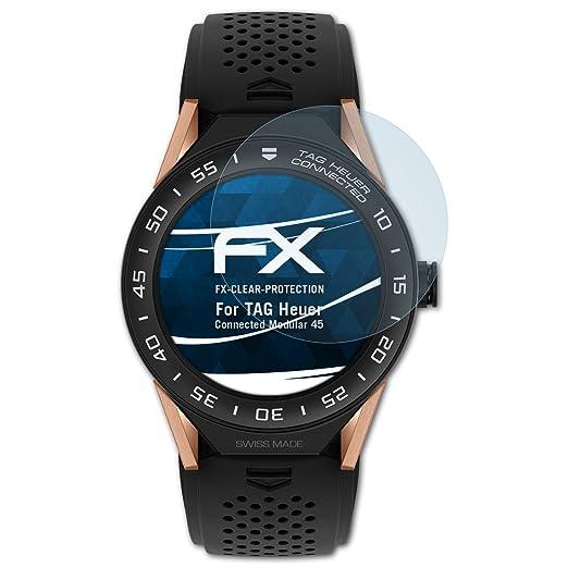 atFoliX Film Protection décran Compatible avec TAG Heuer Connected Modular 45 Protecteur décran, Ultra-Clair FX Écran Protecteur (3X): Amazon.fr: High- ...