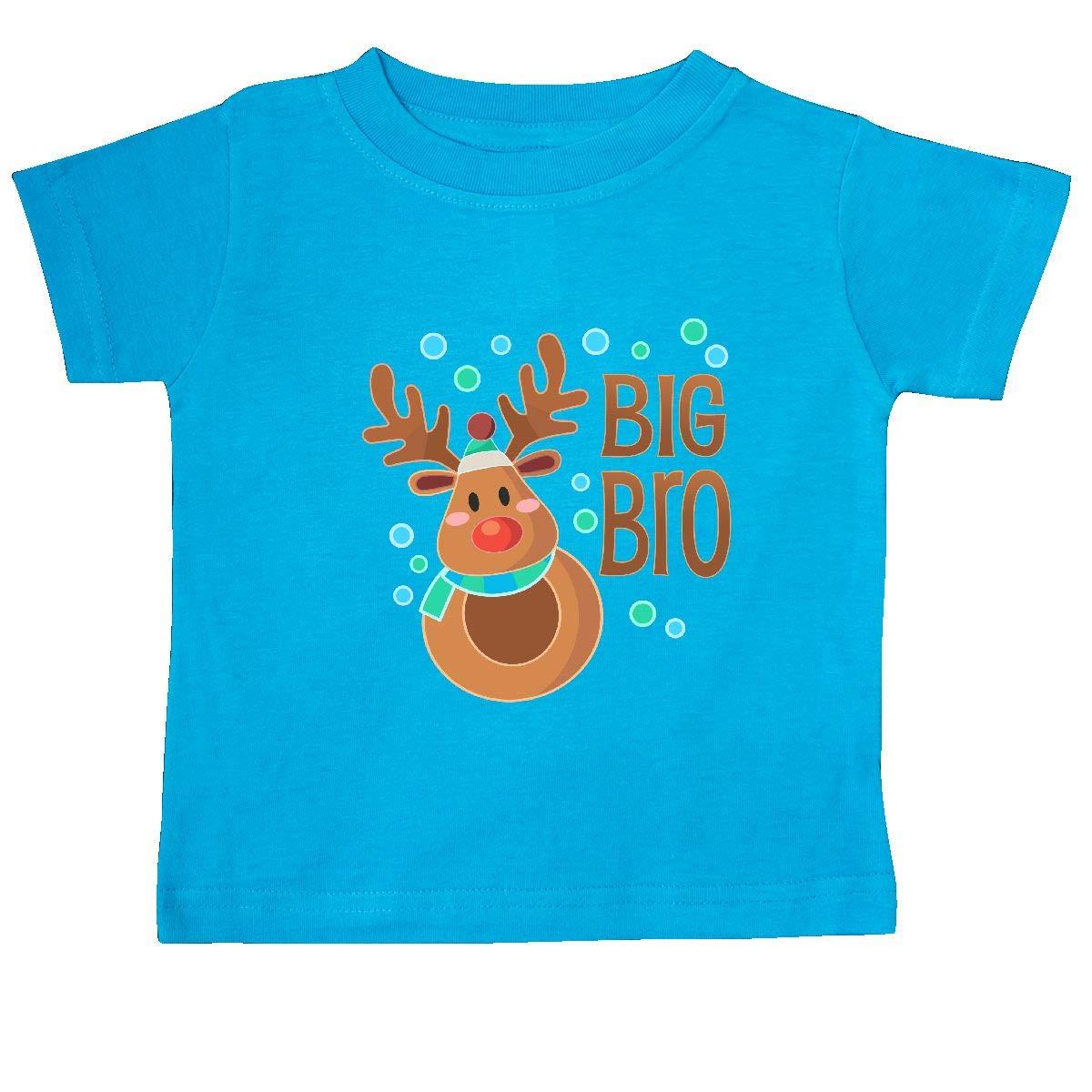 Cute Reindeer Baby T-Shirt inktastic Big Bro