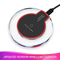 Amazon.com deals on Amuoc Wireless Charger 5 W Fast Wireless Charging Stand