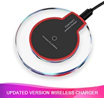 Wireless Charger, 5 W Fast Wireless Charging Stand, Qi-Certified, Compatible Phone XR/Xs Max/XS/X/8/8 Plus...