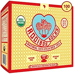 Rooibos Tea Organic Tagless Teabags - 10...