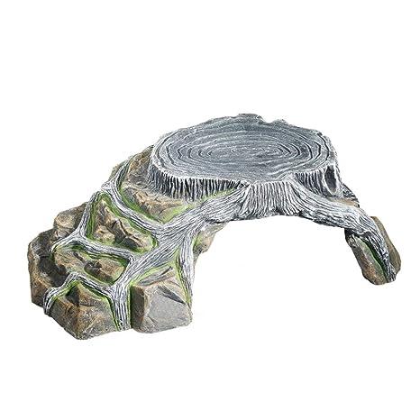 OMEM - Jaula para Reptiles, Tortuga, Piedra Artificial para ...