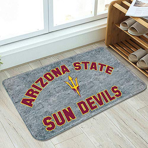 College Flags and Banners Co. Arizona State Sun Devils Cushioned Floor Bath Mat -