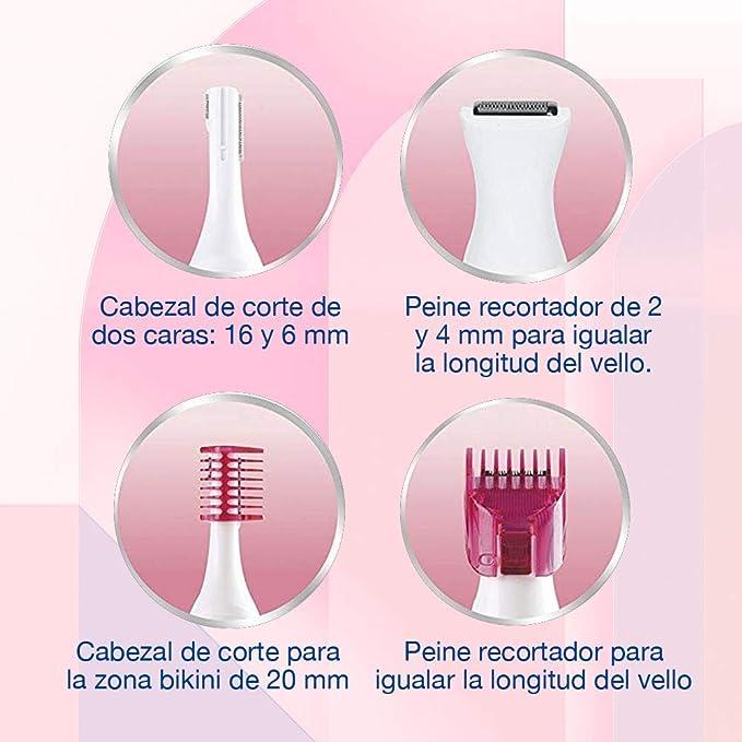 Veet Sensitive Precision - Recortador Eléctrico Depilador Mujer ...
