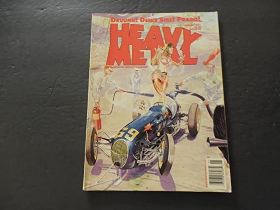 Heavy Metal Jan 1993 Drunna Denis Sire Prado at Amazons Entertainment Collectibles Store