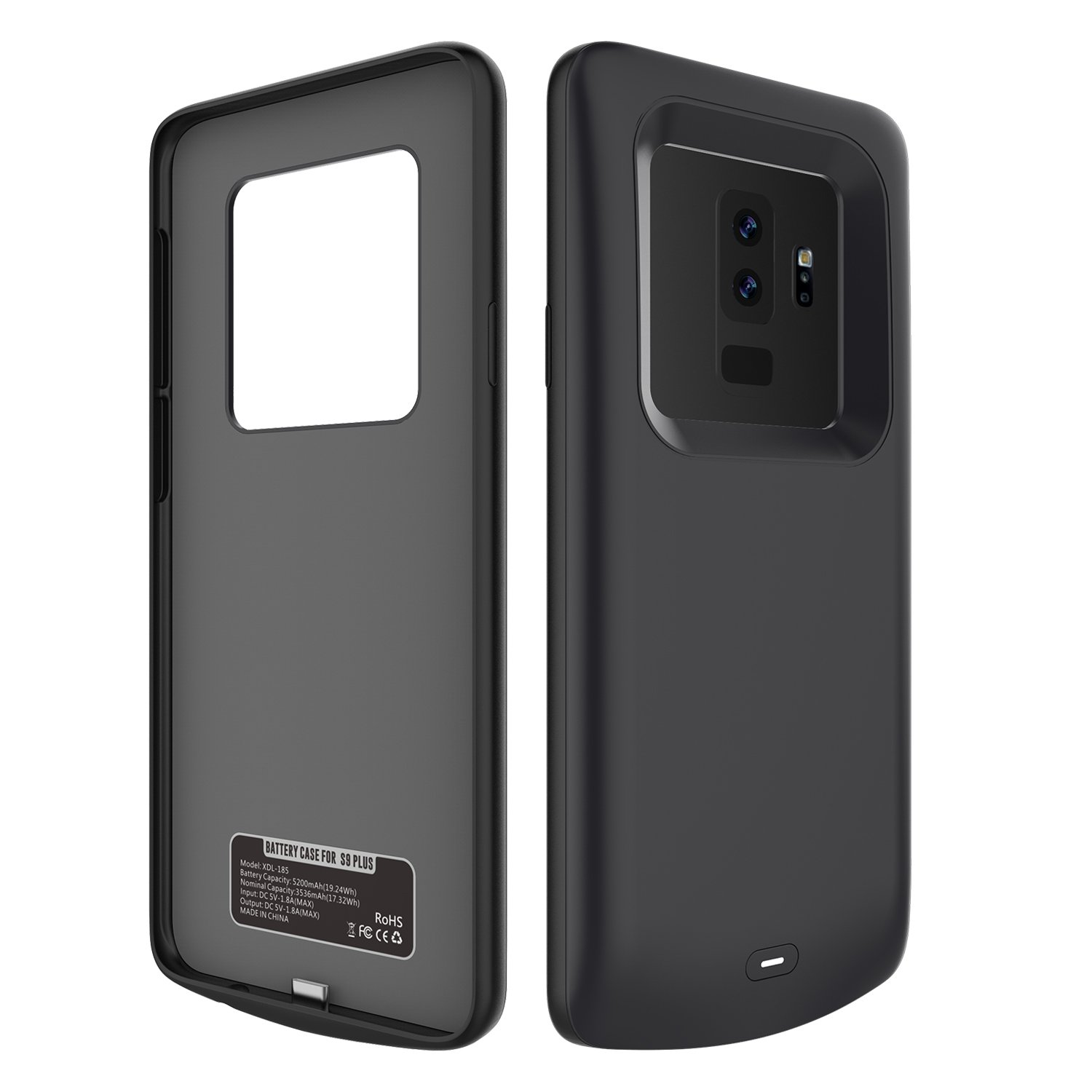 Samsung Galaxy S9 Plus Battery Case Lifeepro Slim Power Juice Pack Powerbank Backcover Iphone 5 5200mah Rechargeable Portable External Bank Backup Charging Protective