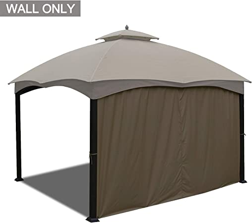 Amazon Com Abccanopy Universal Gazebo Replacement Privacy Wall For Most 10 X 12 Gazebo 1 Panel Sidewall Only Brown Garden Outdoor