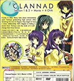 CLANNAD (SEASON 1 + 2) - COMPLETE TV SERIES DVD BOX SET ( 1-44 EPISODES )