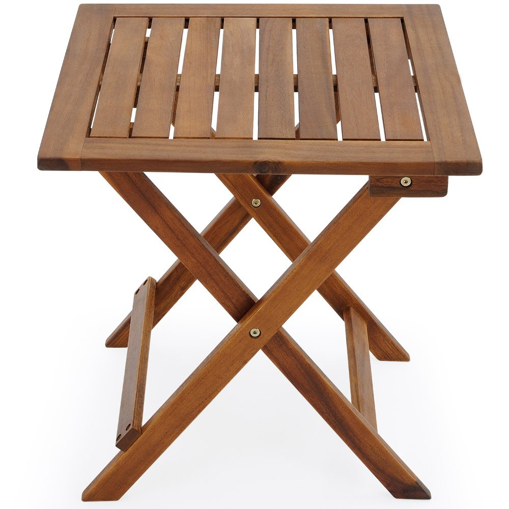 Deuba Acacia Wood Bistro Coffee Table, Brown: Amazon.co.uk: Garden U0026  Outdoors Part 63
