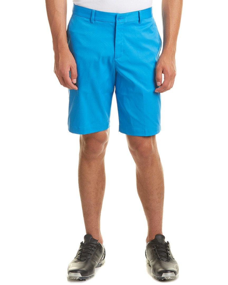 NIKE 2017 Flat Front Men's Golf Shorts - Photo Blue (40) by NIKE