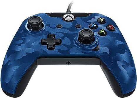PDP - Mando Camuflaje Licenciado Nueva, Color Azul (Xbox One ...