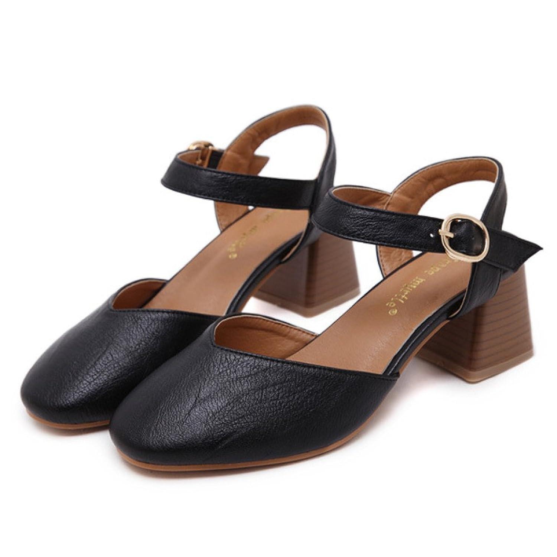 bc26f65b0cfb0 ZPFFE Talons Hauts Cheville Sangle Sexy Bloc Talon Sandales Pour Les Femmes  Robe De Soirée Chaussures