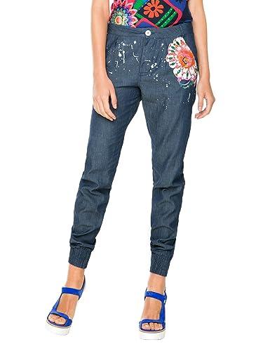 Desigual Mariana, Pantalones para Mujer
