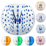 ANCHEER Inflatable Bumper Bubble Soccer Ball Dia 4ft/5 ft(1.2m/1.5m) Giant Human Hamster Ball for Adults and Teens