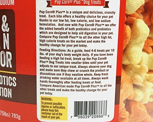 28Oz Pupcorn Plus Parmesan & Cheddar Cheese Flavor With Prebiotics & Probiotics