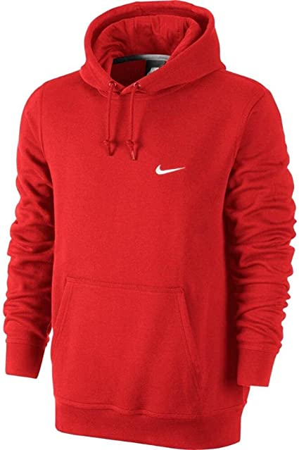 sweat a capuche homme nike rouge