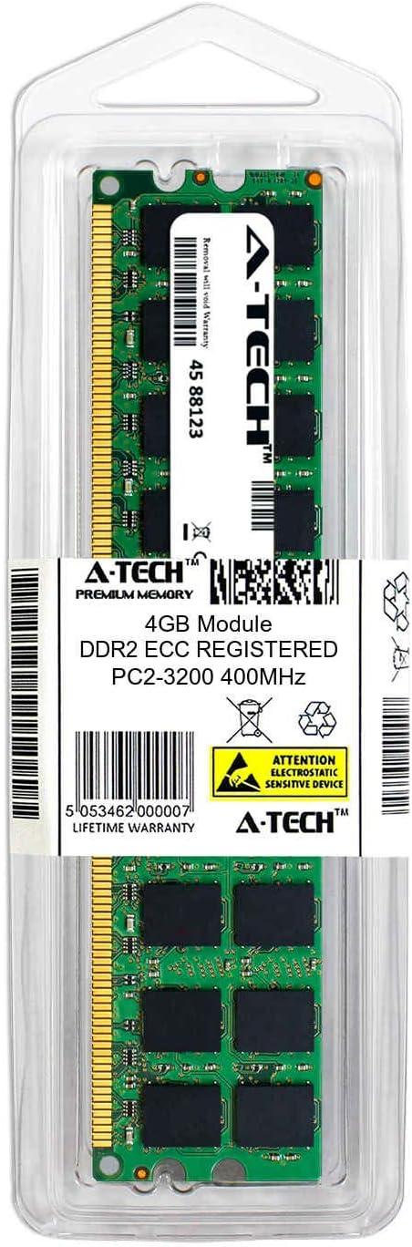 Memory RAM Kingston KVR800D2D4P6//4G Equivalent 4GB DDR2 PC2-6400 800MHz RDIMM