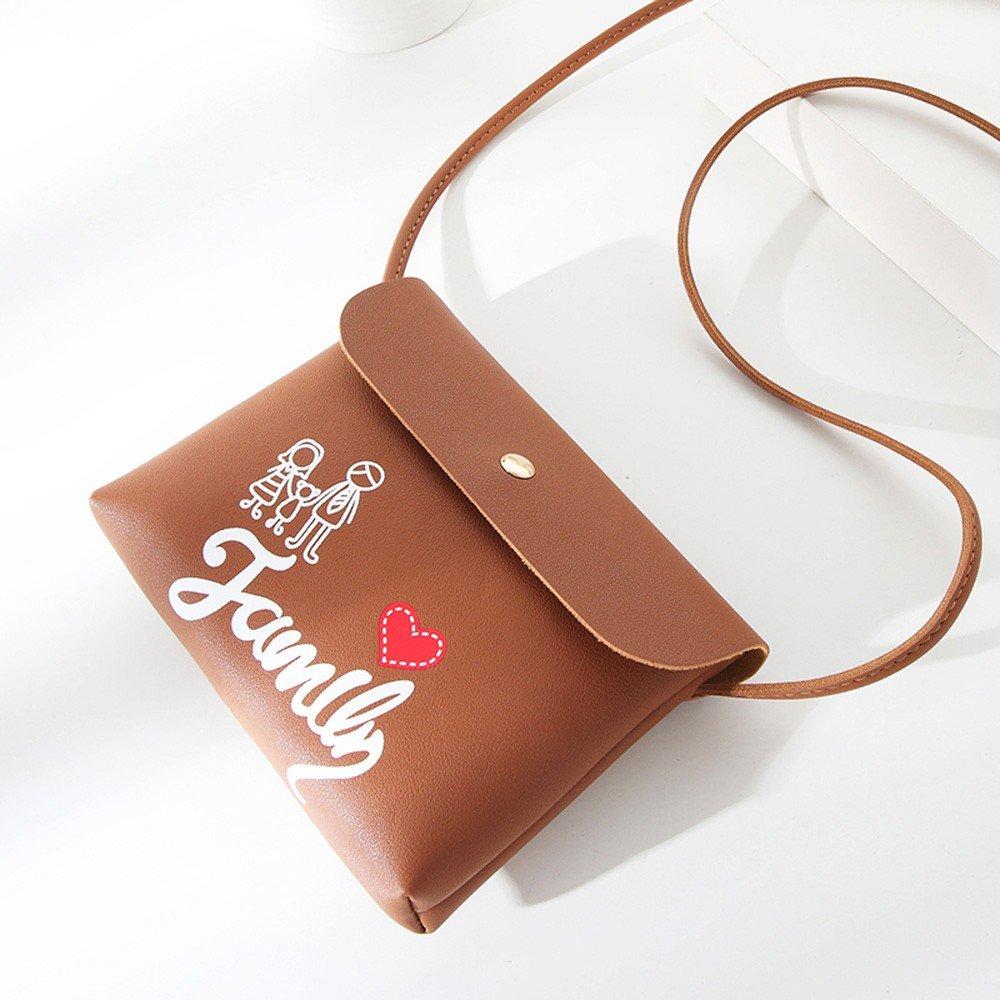 Clearance ❤ Women Bag JJLIKER Fashion Simple Diagonal Lock Coin Purse Phone Bag