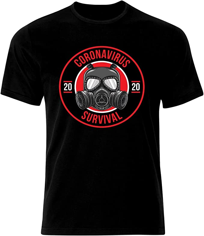 Coronavirus Covid-19 Survivor Viren Survivor Stay Home Corona - Camiseta