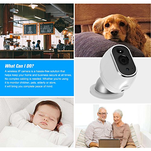 OWSOO Wireless Security IP Camera Pet/Baby/Parents/Home Monitor 960P 1.3 Megapixel WiFi Camera 2-way Audio & Night Vision Phone APP Motion Detection Security Camera by OWSOO (Image #7)