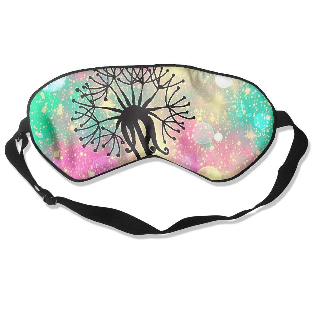 Sleep Mask My Wish Eye Cover Blackout Eye Masks,Soothing Puffy Eyes,Dark Circles,Stress,Breathable Blindfold