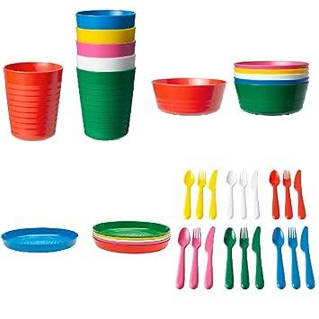 Ikea Kalas niños vaso varios colores 6er Pack vaso BPA libre tazas niño nuevo