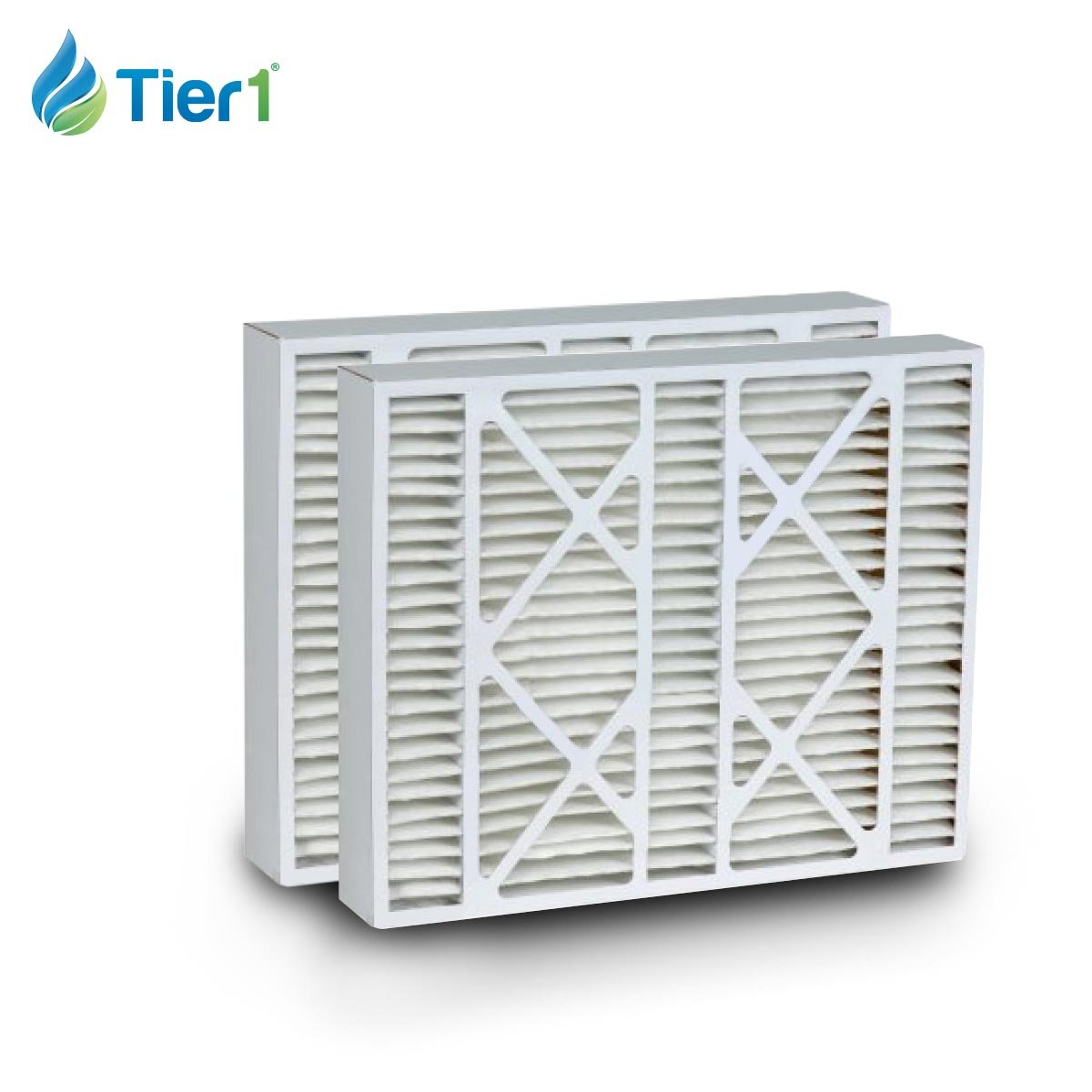 Tier1 Replacement for White-Rodgers 16x21x5 Merv 11 FR1000-100 Air Filter 2 Pack