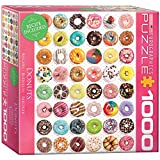 Donuts 1000 Piece Puzzle Jigsaw Puzzle 19 x 27in