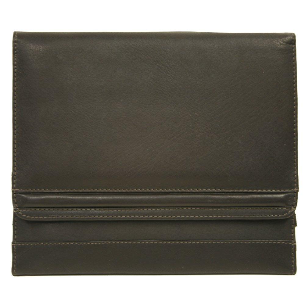 Piel Leather Ipad2 Envelope Case, Chocolate, One Size