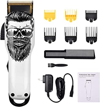 Audoc Upgraded Cordless Electric Hair Clippers