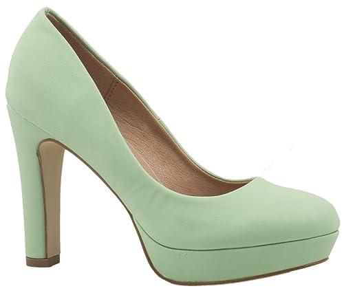 fc14d12ced9 Elara – Modernos zapatos de tacón de aguja con plataforma ...