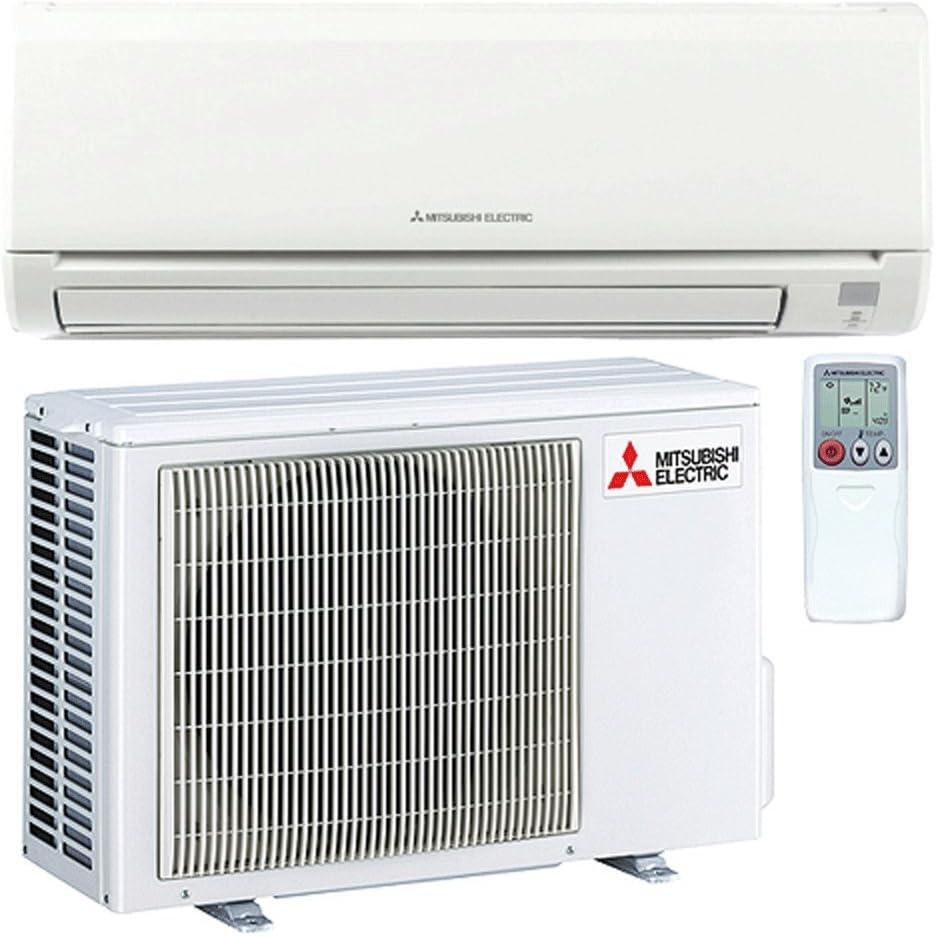 Mitsubishi MZ-GL09NA MSZ-GL09NA-U1 MUZ-GL09NA-U1 Ductless Split System AC SEER 24.6 Cool /& Heat 9,000 Btu Energy Star