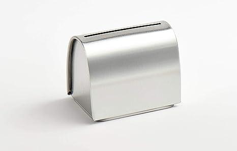 Double Edge Razor Blade Disposal Tin Safe Box Disposal Bank For Used Blades Amazon Co Uk Health Personal Care