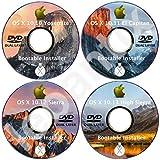 #8: MacOS Mac OS X 10.1x Yosemite El Capitan Sierra High Sierra Full DVD Disc Disk Install Installer Set Update Upgrade Recover Restore Backup