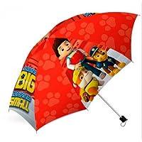 Kids Licensing - Parapluie Pliant Automatique - Rouge - Paw Patrol