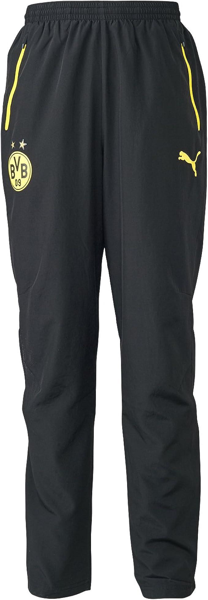 PUMA BVB Leisure Pantalones, Hombre: Amazon.es: Ropa y accesorios