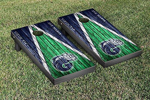 Victory Tailgate Ave Maria Gyrenes Cornhole Game Set Weathered Triangle Version (Best Version Of Ave Maria)
