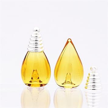 7 x 26 x 13 mm coloured Glaze globo de cristal de gotas de agua aceite