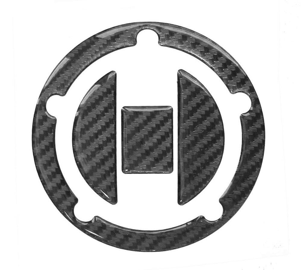/Hightech della pellicola con struttura visibile/ Tappo Serbatoio di Pad 3d 620010/Carbon nero/ /Protezione serbatoio universale adatto per Suzuki di serbatoi