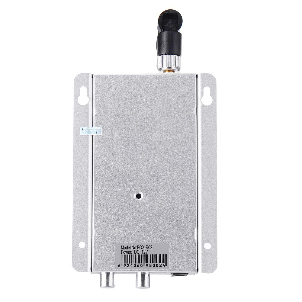 Partom 1.2G 12CH 200mW Wireless FPV Transmitter with Fox-R02 12CH FPV Receiver Combo for RC Drone by Generic (Image #7)