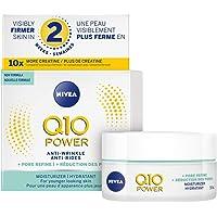 Nivea Q10 Power Anti-wrinkle Pore Refine Moisturizer (50ml), Anti-aging Cream for Combination Skin, Face Cream Visibly…