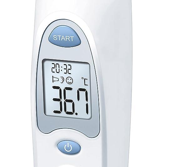 Sanitas SFT 53 de oído Termómetro: Amazon.es: Salud y ...