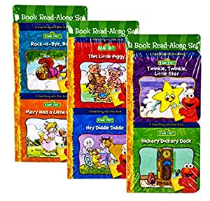 Sesame Street Read-Along With Elmo Mini Board Books, 6-pk