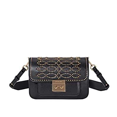 9e766806800f Image Unavailable. Image not available for. Color: Michael Kors Sloan  Editor Large Leather Shoulder Bag