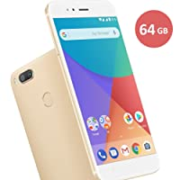 Smartphone Xiaomi Mi A1 dual Android One Tela 5.5 64GB Camera dupla 12MP - Dourado
