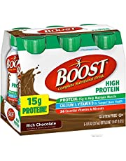 Boost Nutritional Energy Drink High Protein Chocolate, 6 PK (Pack of 4)