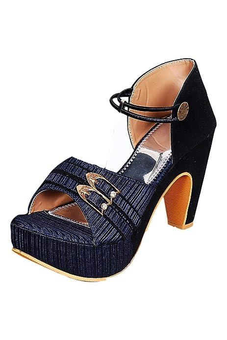 Ankle Strap Anti Slip High Heel Sandal