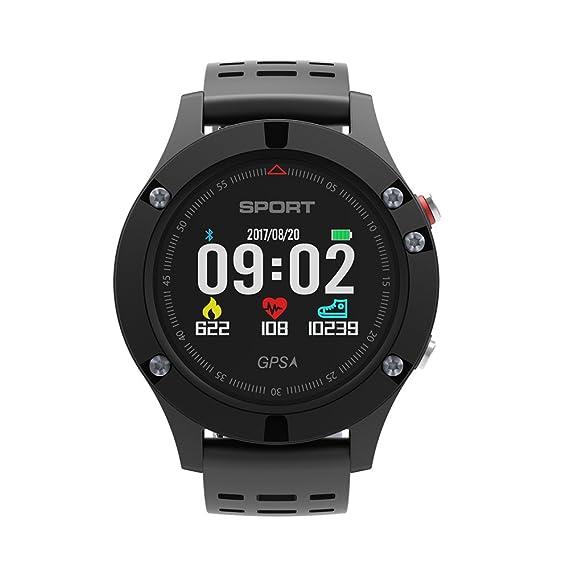 Reloj deportivo con Bluetooth, Gaf5 inteligente y resistente al agua, con pantalla de color